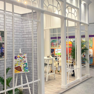 Bespoke exhibition stand for Paul Dennicci