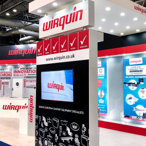 Bespoke exhibition stand for Wirquin