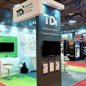 Hybrid exhibition stand for TDI