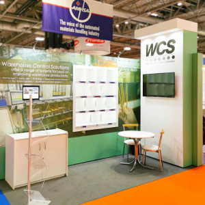 Hybrid exhibition stand for WCS