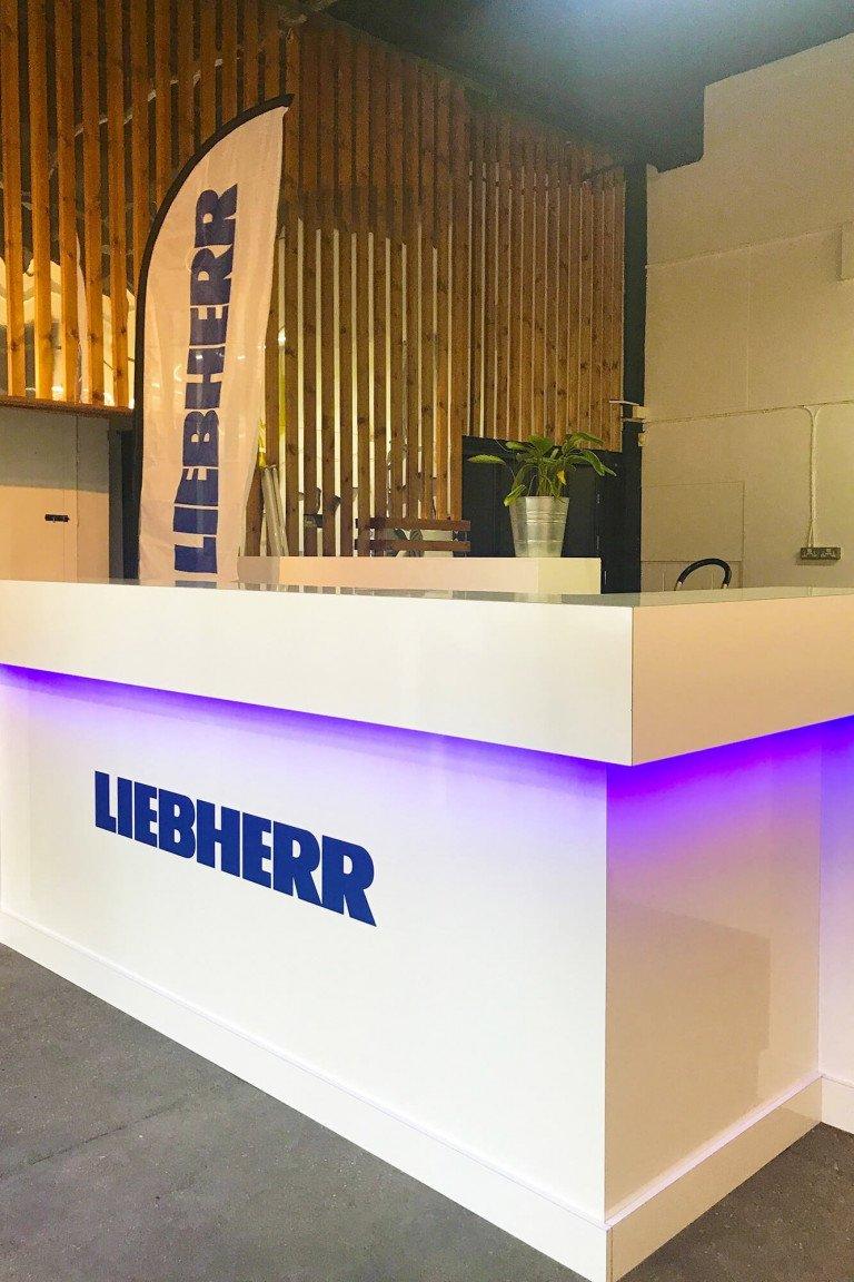 Installation for Liebherr