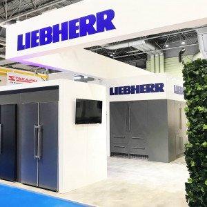 Bespoke exhibition stand for Liebherr