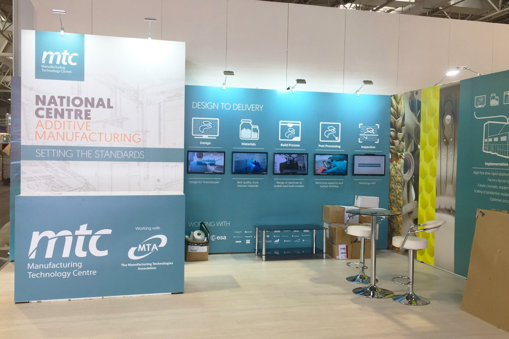 MTC Exhibition Stand at MACH
