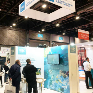 MTC Exhibition Stand at Smart Factory Expo